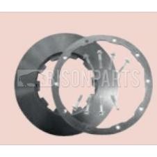 FRONT OR REAR BRAKE DISC C/W FITTING KIT