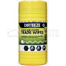 GLASS & PLASTIC TRADE WIPES (PKT 80)