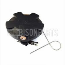 80MM LOCKING PLASTIC FUEL CAP