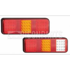 LED REAR COMBINATION LAMPS 12/24 VOLT (PAIR)