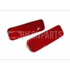 REAR RED BUMPER REFLECTORS