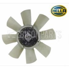 VISCOUS FAN HUB & BLADE ASSEMBLY