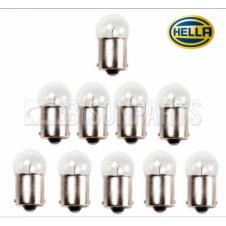 SINGLE CONTACT SIDE & TAIL LAMP BULB 24 VOLT