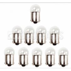 SINGLE CONTACT SIDE & TAIL LAMP BULB 12 VOLT