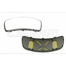 KERB / ROOF MIRROR GLASS PASSENGER SIDE LH