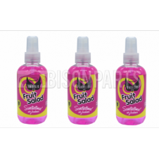 ANGELIC AIR FRUIT SALAD AIR FRESHENER 200ML PUMP SPRAY (PACK OF THREE)
