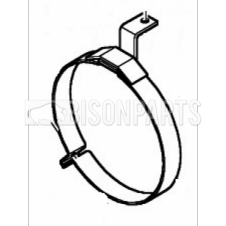 SILENCER EXHAUST CLAMP