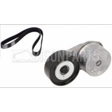 BELT TENSIONER & MULTI RIBBED POLY V-BELT