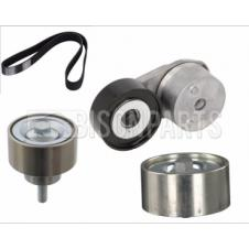 BELT TENSIONER, PULLEYS & MULTI RIBBED POLY V-BELT