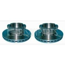 REAR BRAKE DISCS FITS RH OR LH (PAIR)