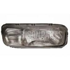 RIBBED HEADLAMP GLASS ONLY DRIVER SIDE RH