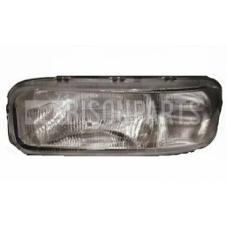 RIBBED HEADLAMP GLASS ONLY PASSENGER SIDE LH