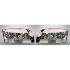 HEADLAMP RETRO FIT 'EYEBROWS RH & LH (PAIR)