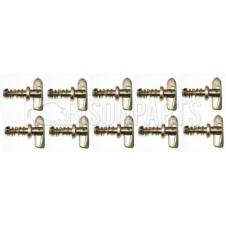 SCREW-ON ANTI LOOSE FASTENERS (PKT 10)