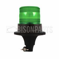 LED GREEN COMPACT WARNING BEACON 12-24V