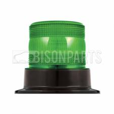 LED GREEN COMPACT WARNING BEACON 12-24V