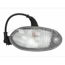 CLEAR SUNVISOR MARKER LAMP DRIVER SIDE RH
