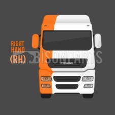 SUNVISOR CORNER SECTION DRIVER SIDE RH