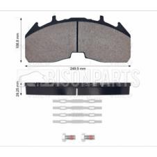 FRONT OR REAR BRAKE PAD SET