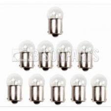 DOUBLE CONTACT SIDE & TAIL LAMP BULB 12 VOLT