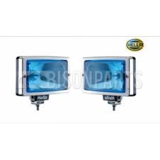 HELLA JUMBO 220 BLUE TINTED DRIVING LAMP FITS RH & LH (PAIR)