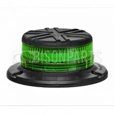 LED GREEN LOW PROFILE 3 BOLT BEACON