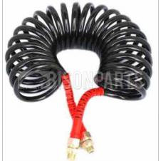 EMERGENCY AIR LINE COIL BLACK WITH RED ENDS 22 TURN 4.5M