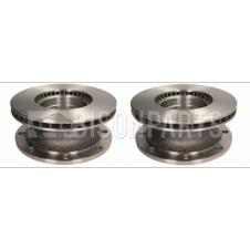 FRONT OR REAR BRAKE DISC FITS RH & LH (PAIR)