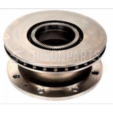 REAR BRAKE DISC & ABS EXCITER RING FITS RH OR LH