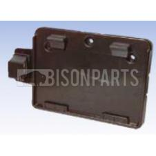 Number Plate Holder c/w Lamp- Rubbolite Thermoplastic