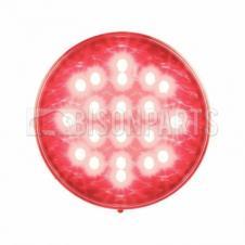 LED RED ROUND FOG LAMP 12/24V