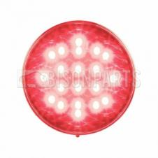 LED RED ROUND STOP & TAIL LAMP 12/24V
