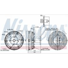 VISCOUS FAN CLUTCH HUB ASSEMBLY