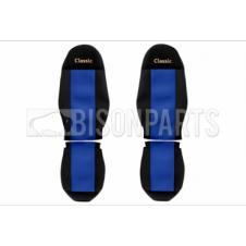 BLUE CLASSIC SEAT COVER SET (PAIR)