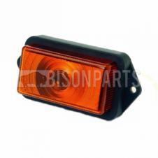RUBBOLITE / TRUCK-LITE MODEL M550 550/03/00 AMBER ORANGE SIDE MARKER LAMP LIGHT
