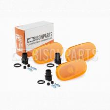 AMBER SIDE MARKER LAMP FITS RH OR LH (PKT 3)