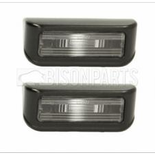 REAR NUMBER PLATE LAMPS