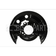 REAR BRAKE DISC SHIELD PASSENGER SIDE LH