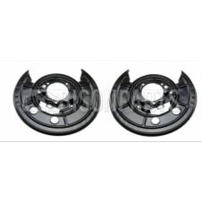 REAR BRAKE DISC SHIELDS RH & LH (PAIR)