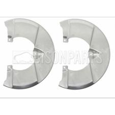 FRONT BRAKE DISC SHIELD FITS RH & LH (PAIR)