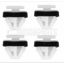 MIRROR ARM COVER MOUNTING CLIPS (PK4) TO SUIT DAF521 / DAF522