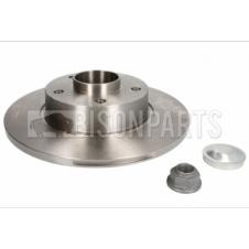 REAR BRAKE DISC FITS RH OR LH