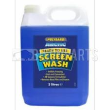 POLYGARD -5C ARCTIC SCREEN WASH CONCENTRATED 5 LITRES