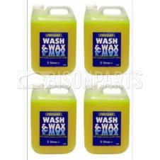 POLYGARD WASH & WAX 5 LITRES (PKT 4)