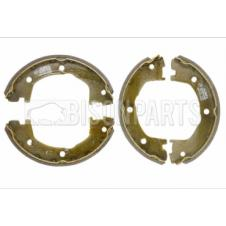 REAR HANDBRAKE BRAKE SHOE SET (PKT 4)