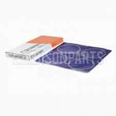 WHEEL TRIM CENTRE BLUE STICKERS (PKT 4)