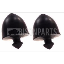 FRONT LOWER BUMP STOP BUFFERS (PAIR)