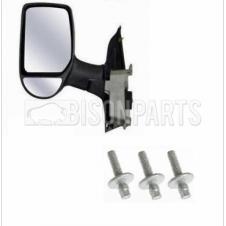 TWIN GLASS MIRROR HEAD & SELF SHEERING BOLTS PASSENGER SIDE LH