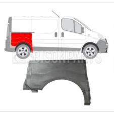 REAR FENDER REPAIR SWB DRIVER SIDE RH (HALF HEIGHT)