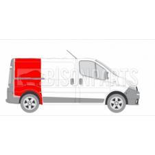 REAR FENDER REPAIR SWB DRIVER SIDE RH (FULL HEIGHT)